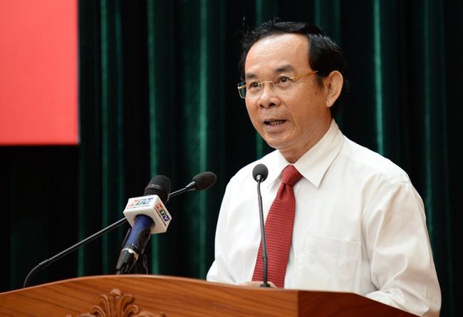Secretary of HCM City Party Committee Nguyen Van Nen. Photo: VTV