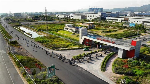 The Van Trung industrial park in Bac Giang province. Photo: VNA