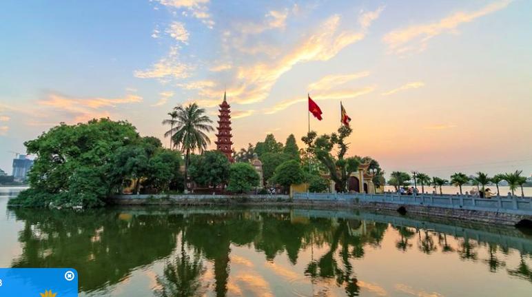 Tran Quoc Pagoda in Hanoi. Photo: Vietair