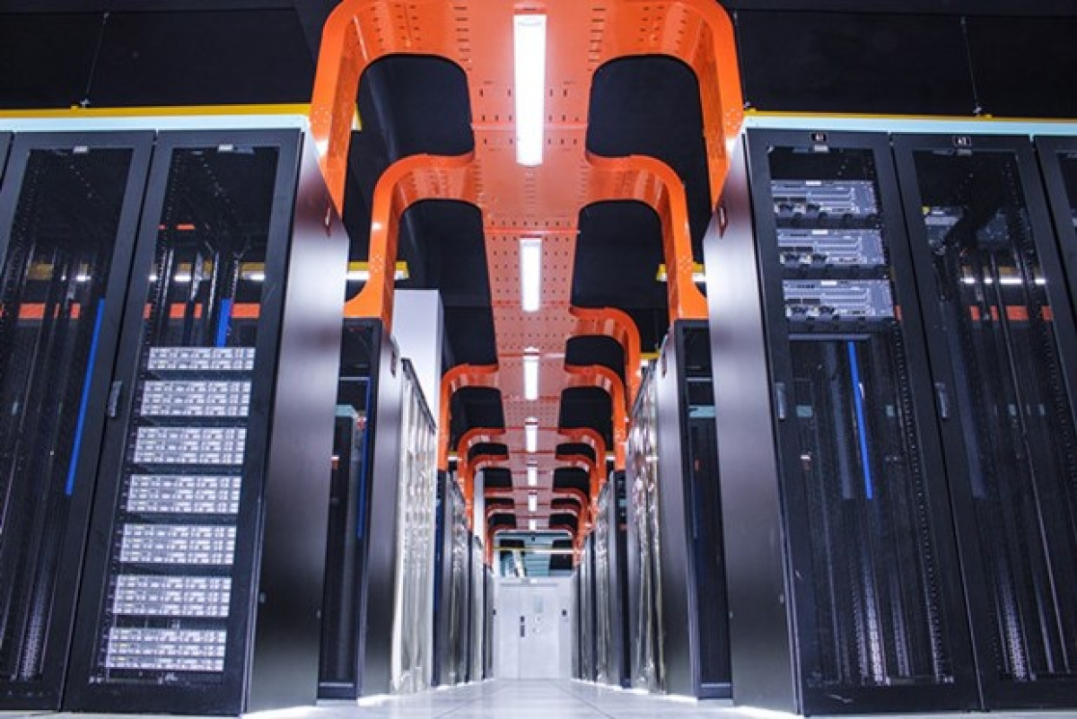 A data centre of FPT. Photo: fpt.vn