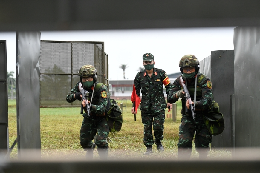Follow Vietnam's Achievements at Army Games 2021