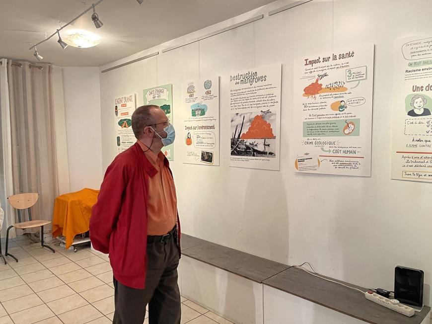 First Graphic Exhibition on Vietnam's Agent Orange in France