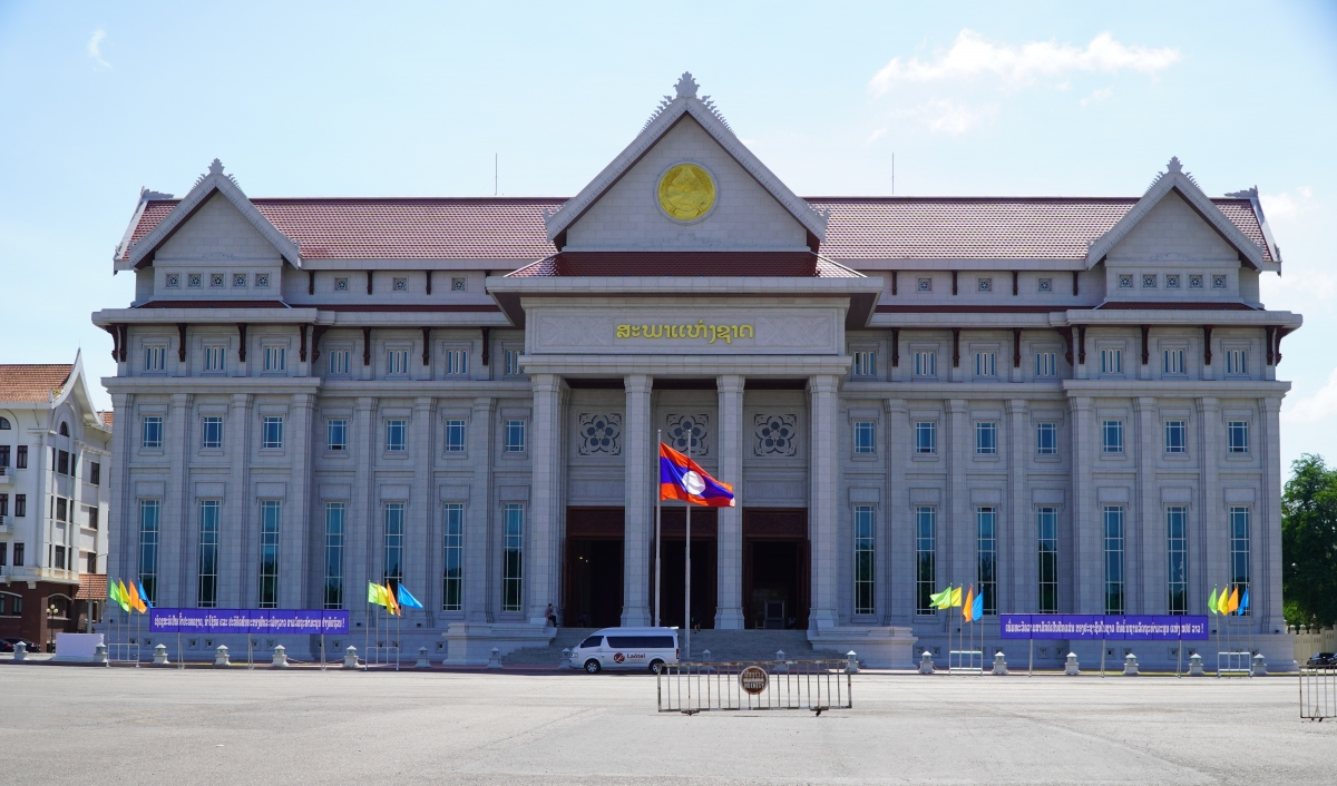 Lao National Assembly Building: New Symbol of Vietnam - Laos Relations