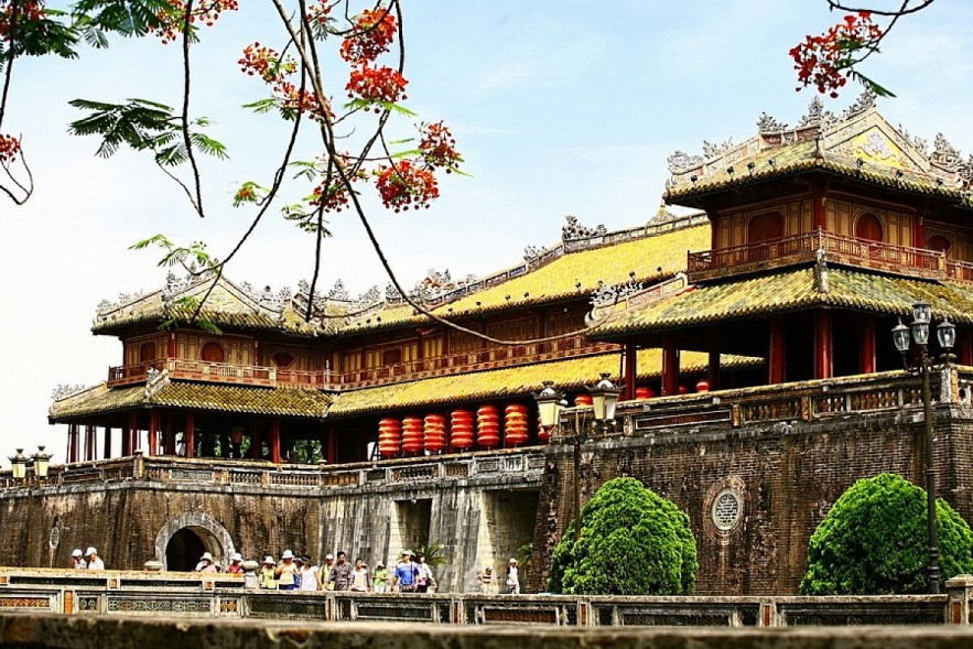 Hue Imperial Citadel (Dai Noi) in the central province of Thue Thien-Hue. Photo: VOV