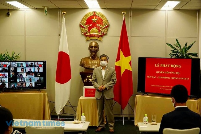 Vietnamese Community in Japan Contributes to Covid-19 Vaccine Fund