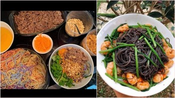Special Five-Color Vermicelli in Cao Bang