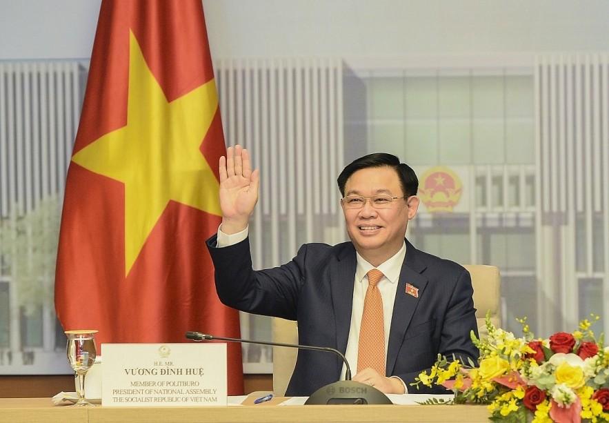 National Assembly Chairman Vuong Dinh Hue. Photo: VOV