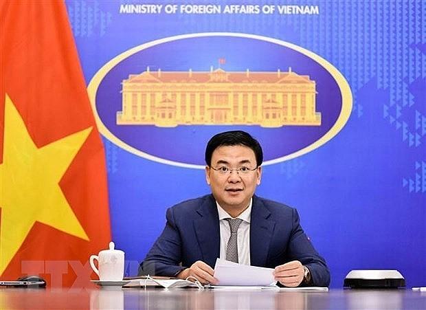 Deputy Foreign Minister Pham Quang Hieu. Photo: VNA