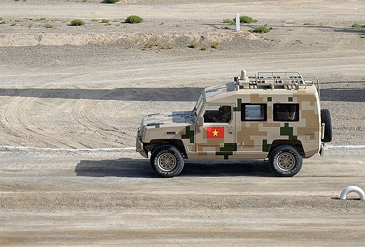 Vietnam Stands 8th in Army Games 2021