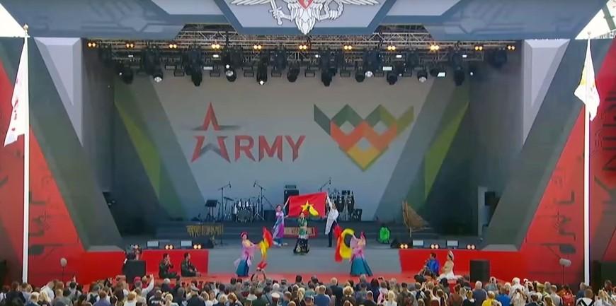 Vietnam Army of Culture Won Awards at Army Games 2021