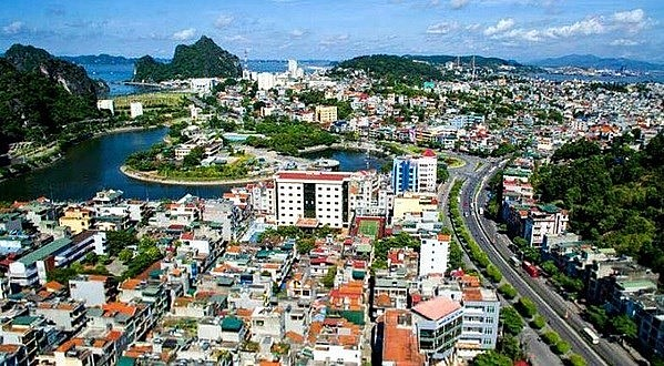 Ha Long city in the northern province of Quang Ninh. Photo: VNA