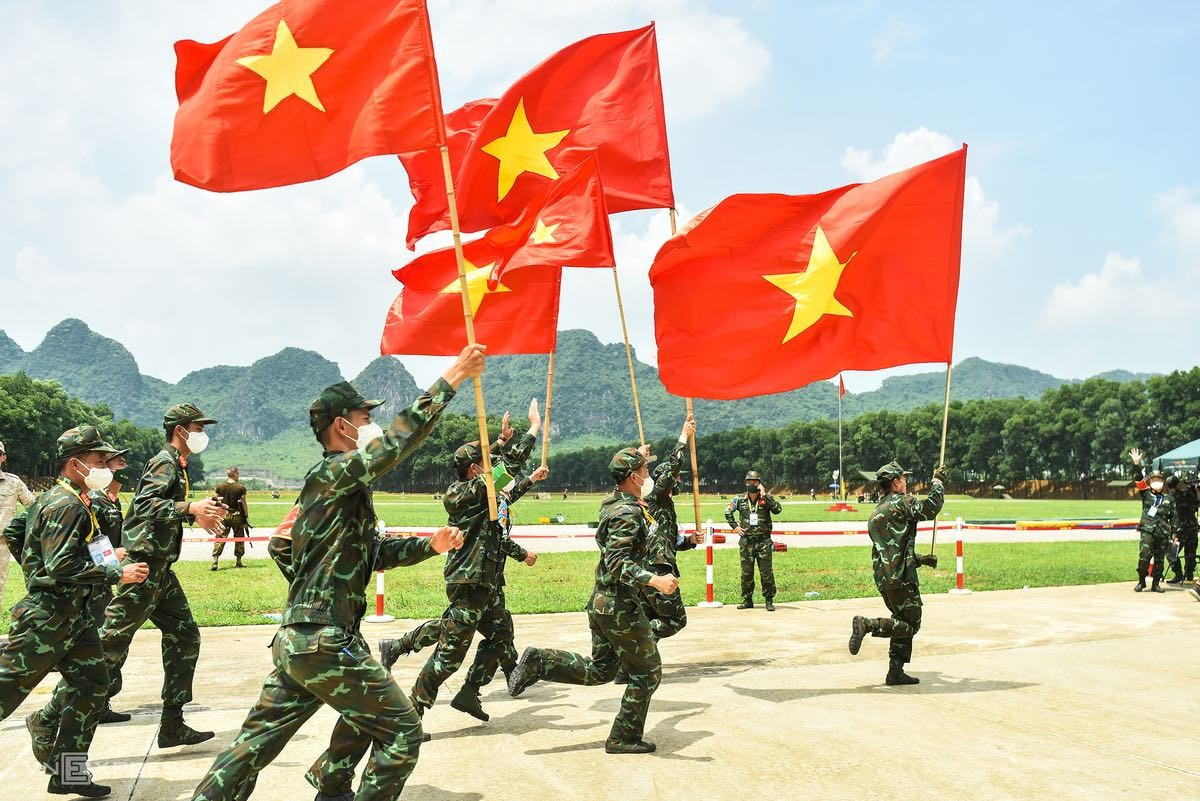 Vietnam Wins 'Sniper' Gold in Army Games 2021