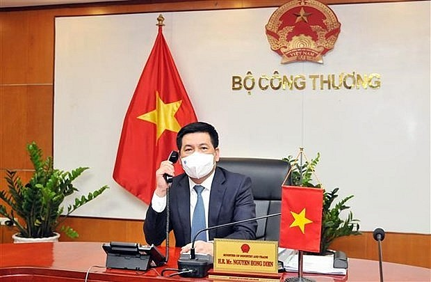 Minister of Industry and Trade Nguyen Hong Dien. Photo: VNA