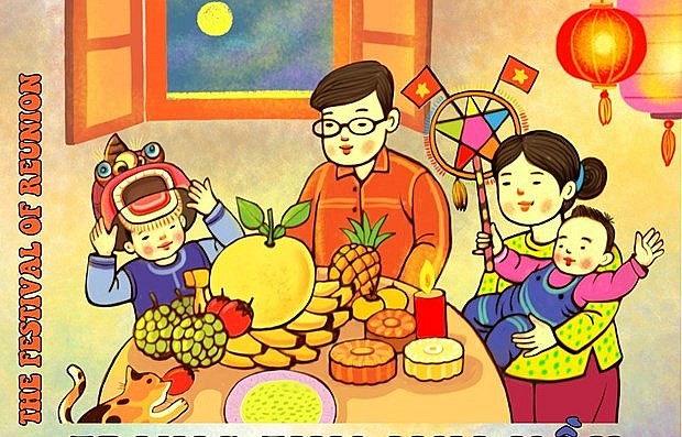 The Thang Long-Hanoi Heritage Conservation Centre will hold a virtual exhibition on the 2021 Mid-Autumn Festival starting September 19 (Photo courtesy of the organisers)