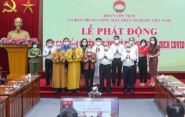 Vietnamese Religious Organizations Join Hands to Fight Covid-19