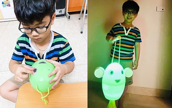 Homemade Mid-Autumn Festival Lanterns Harkens Back to Vietnam's Difficult Past