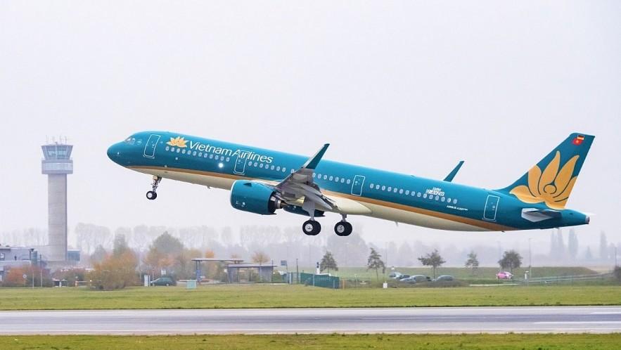 Vietnam Airlines completes procedures for regular direct flights to US. Photo: VOV