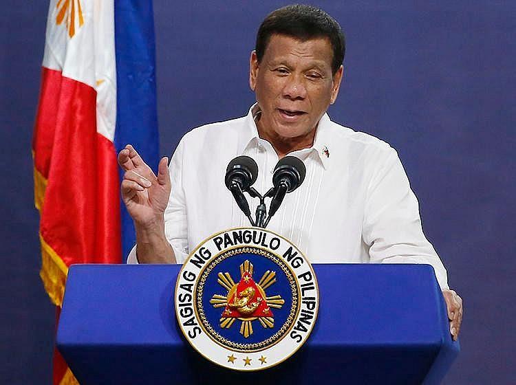 Philippine President Rodrigo Duterte. Photo: cpj