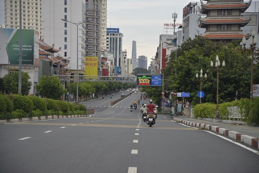 HCM CIty is asking for a special policy to reopen its post-pandemic economy. Photo: VOV