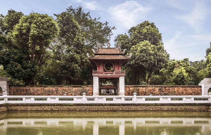 Temple of Literature Imperial Academy Promotes Heritage Spaces