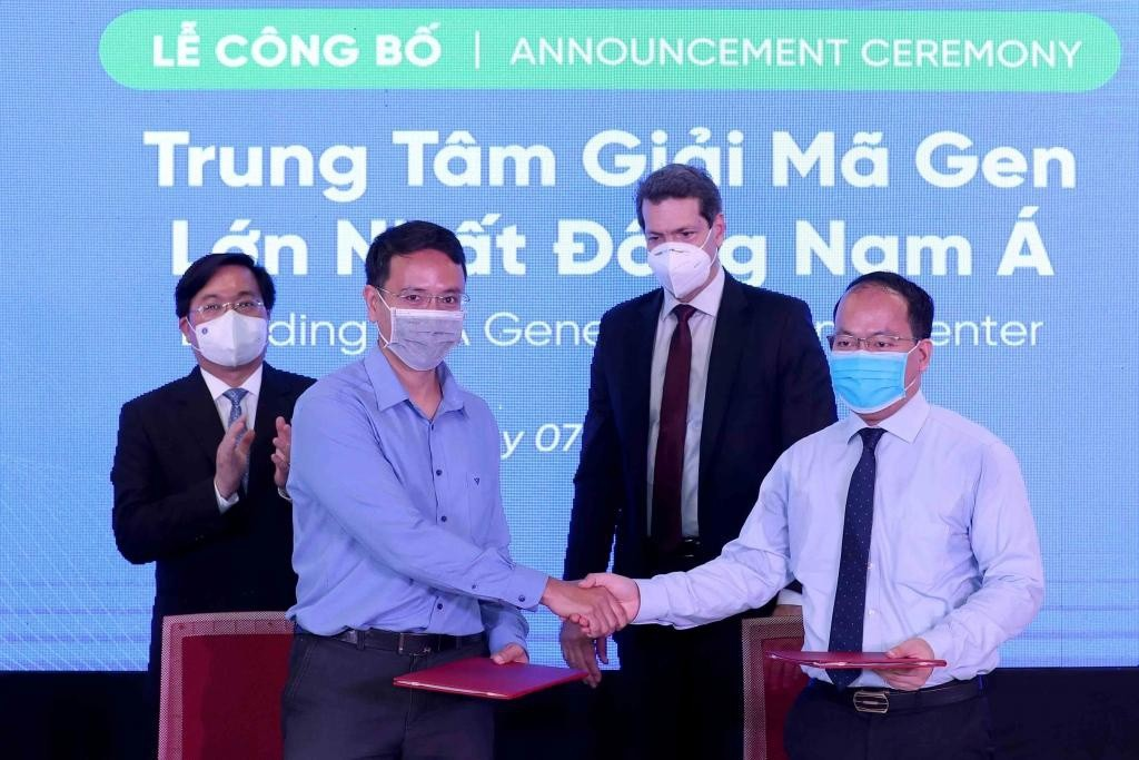 Southeast Asia's Largest Gene Sequencing Center Set-up in Vietnam