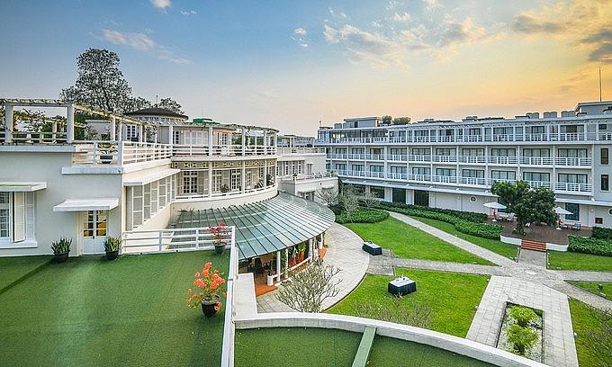 Azerai La Residence Hotel in Hue, central Vietnam. Photo: VnExpress