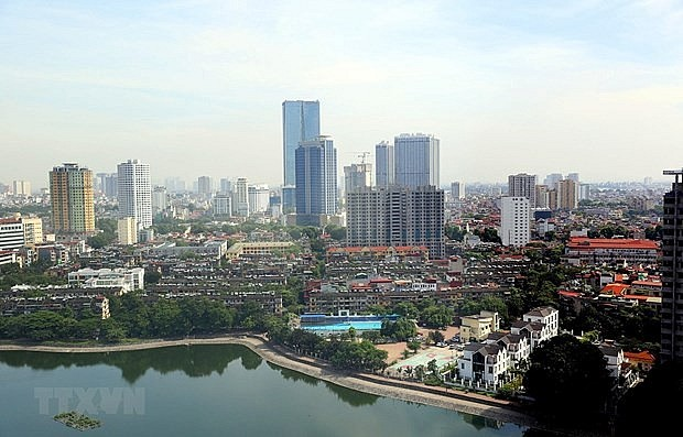 Hanoi is striving to fulfill its economic goals for the fourth quarter of the year and the entire 2021, which would lay as a basis for growth in 2022 and the following years. Photo: VNA