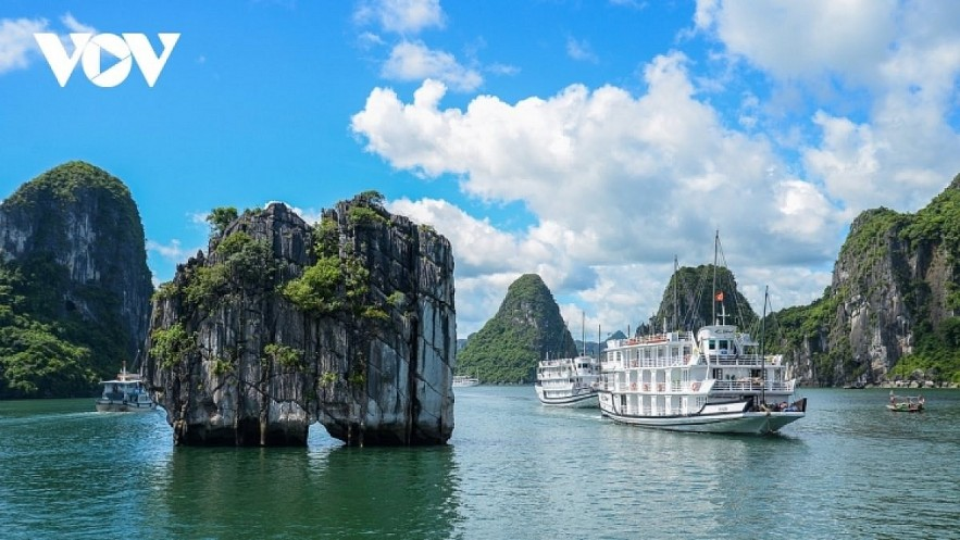 The world heritage site of Ha Long Bay in the northern province of Quang Ninh. Photo: VOV