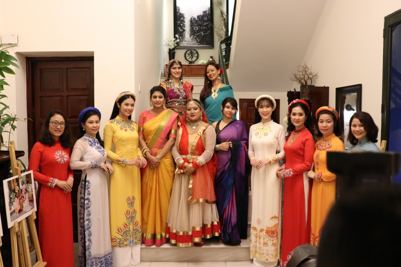 Celebrating the Ao Dai, the Sari, and Vietnamese-Indian Friendships