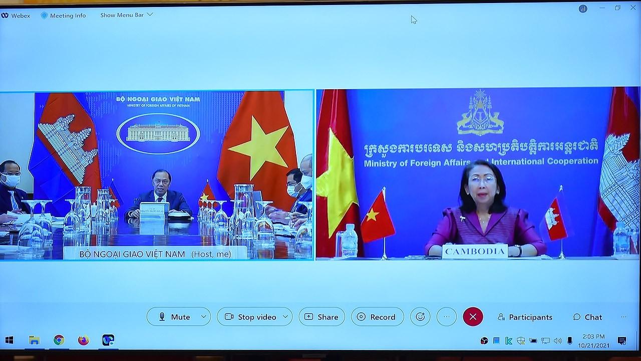 Vietnam, Cambodia Hold Consultation on 55th Anniversary of Bilateral Ties