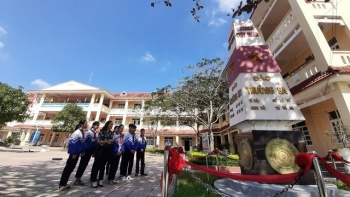 The school names its class after Spratly and Paracel islands