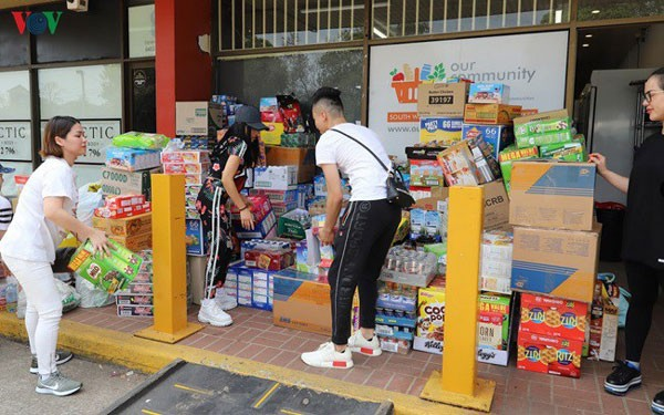 vietnamese community support wildfire victims in australia