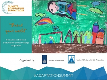 drawing contest vietnamese childrens creativity for climate change adaptation kicked off