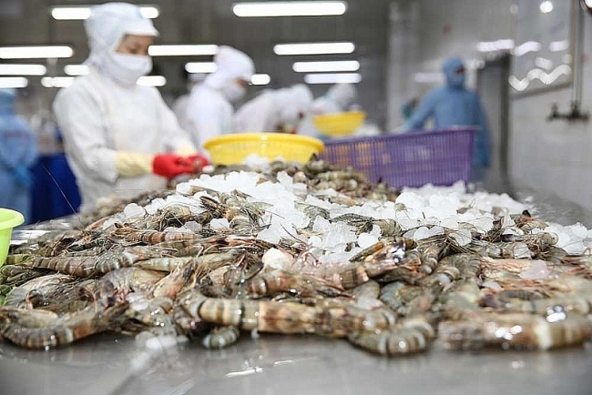 160 tonnes of shrimp exports leave port to EU, US and Japan