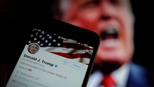 Twitter, Facebook lock Trump's account amid riots at US Capitol