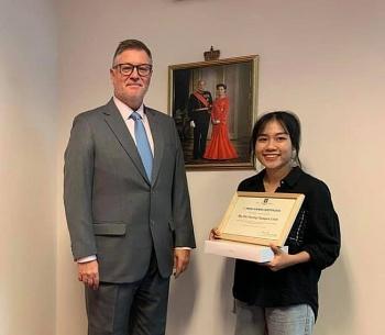 winner of logo contest to mark 50th anniversary of vietnam norway ties announced