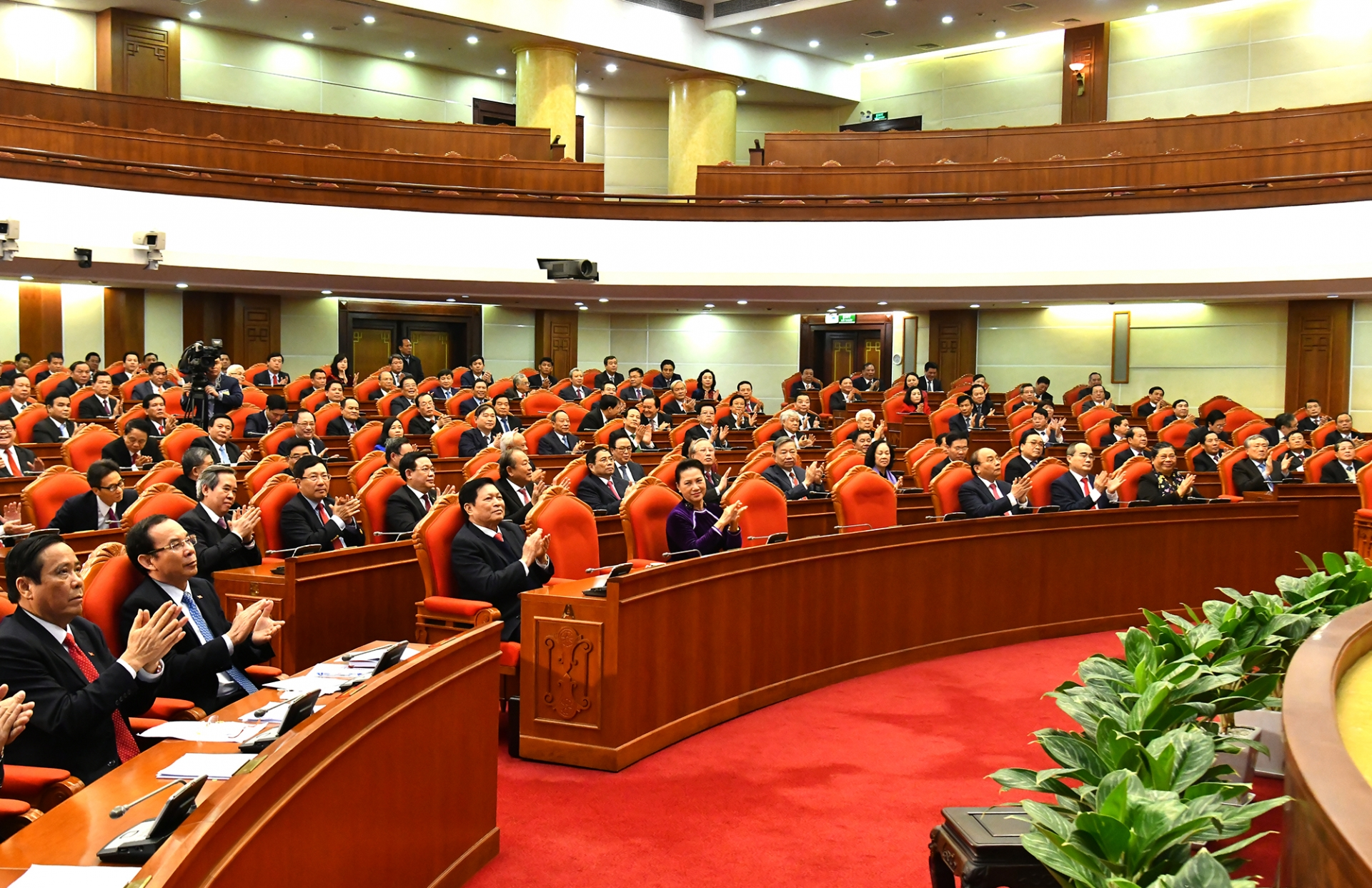 VGP News | Party Central Committee passes key personnel lists   Party Central Committee passes key personnel lists