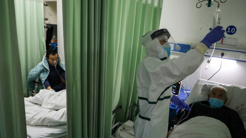 china virus rise again after earlier decline