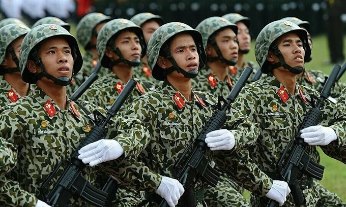 vietnam improves position in global military ranking