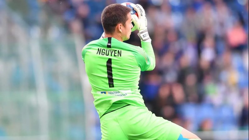 Europe-based goalkeeper Filip Nguyen closing in on playing for Vietnam national team