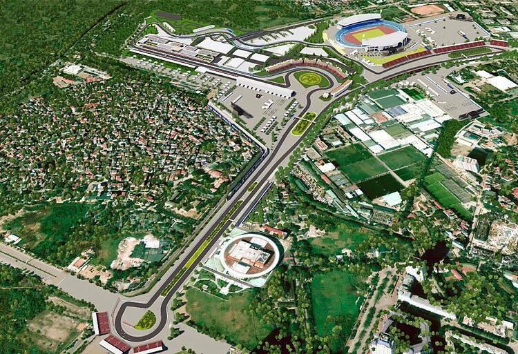 vietnam f1 racetrack named after hanoi
