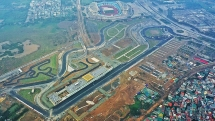 hanoi racetrack ready for vietnam f1 race