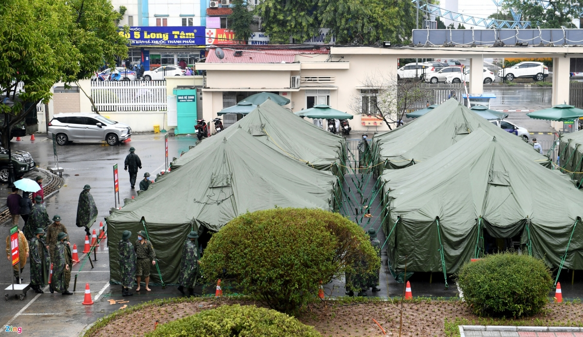 covid 19 field hospital established in only four hours hanoi