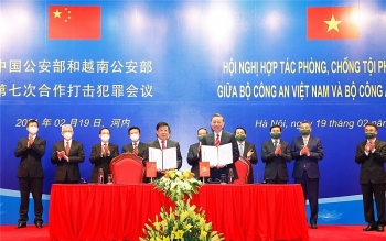 Vietnam, China to cooperate on busting crimes
