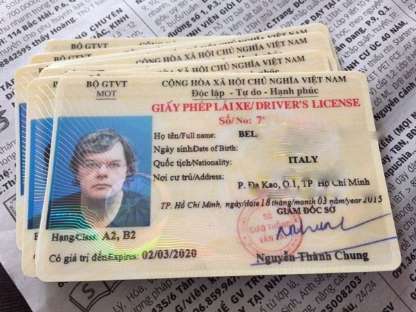 4043 driving license