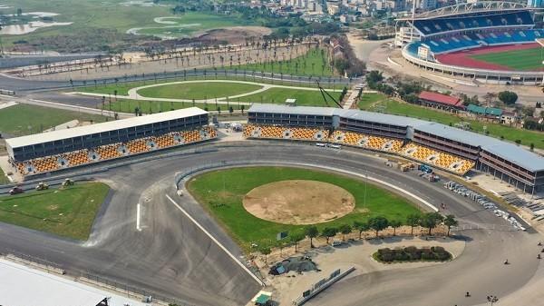 Hanoi racetrack ready for Vietnam F1 race