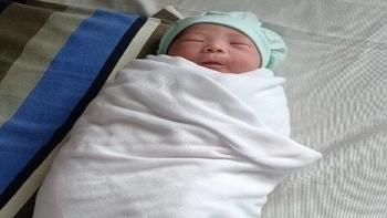 Baby girl born in COVID-19 quarantine zone