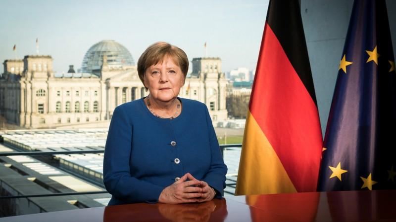 merkels emotional appeal amid coronavirus outbreak urging german solidarity
