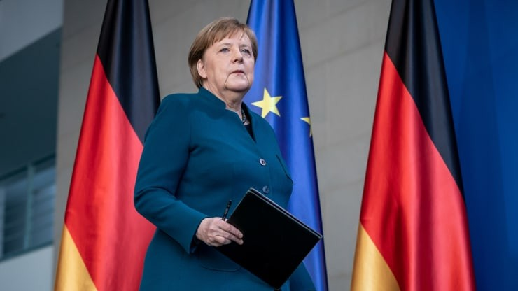 german chancellor angela merkel go into self quarantine after meeting infected doctor