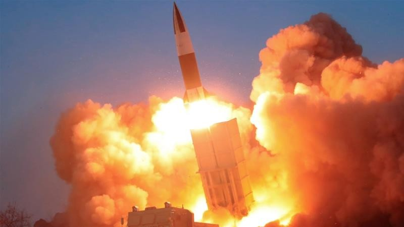 while the world is batting covid 19 north korea fires more missiles than ever